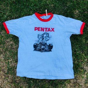 Vintage Hanes Made in USA Pentax Indy Racing Ringe